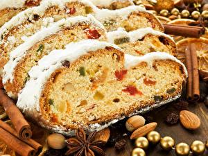 Фотография Праздники Выпечка Новый год Кекс Еда