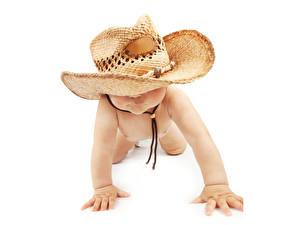 Фото Грудной ребёнок Шляпе ребёнок