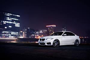 Фото BMW Белый Ночные 2014 AC Schnitzer ACS2 F22 авто