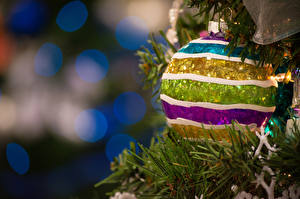 Картинки Праздники Рождество Шарики