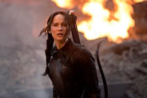 Обои Голодные игры Jennifer Lawrence Лучники Кино Знаменитости Девушки