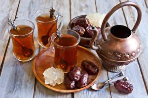 Обои Напитки Чай Сладости Стакан Еда