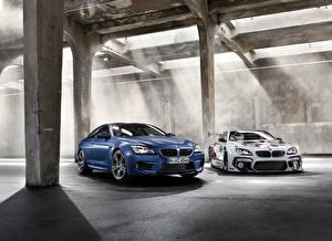 Обои БМВ Тюнинг 2 Металлик 2015 BMW M6 GT3 авто