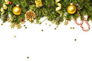Фотография Рождество Шар Шаблон поздравительной открытки Ветвь