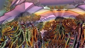 Фотографии Абстракционизм 3D Графика