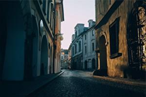 Картинка Здания Италия Улица Города