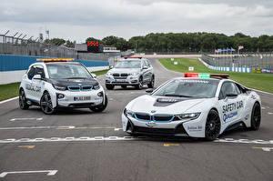 Картинки BMW Полицейский Три 2014 i8 Formula машины