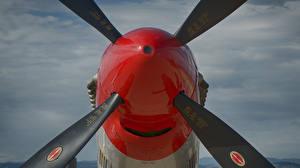 Фото Самолеты Крупным планом P-51, Mustang