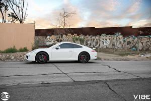 Фото Порше Белый Спереди 911 Zito ZS05 Автомобили