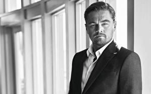 Фотография Мужчины Leonardo DiCaprio Классический костюм