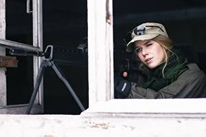 Фотографии Винтовки Снайперская винтовка Бейсболка Снайперы Армия