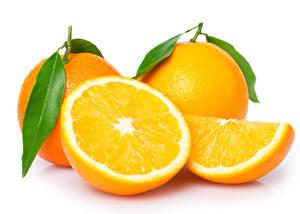 Фото Цитрусовые Апельсин Вблизи