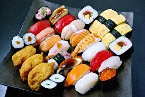 Картинка Морепродукты Суси Рыба