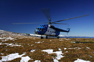 Фото Самолеты Вертолеты Mi-8