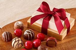 Картинки Конфеты Шоколад Подарок Бантики Еда