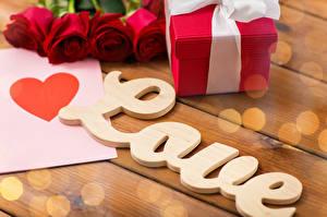 Картинка Праздники Любовь День всех влюблённых Розы Сердечко