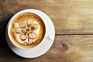 Обои Напитки Кофе Капучино Чашка Еда фото
