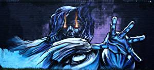 Обои Граффити Стены Из кирпича