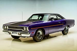 Картинки Plymouth Фиолетовый 1970 Road Runner Coupe
