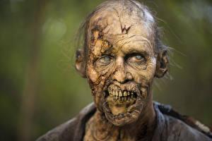 Картинка Зомби Ходячие мертвецы Лицо Фильмы