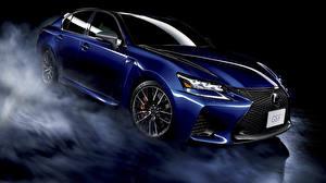 Картинка Lexus Синий GS F машина