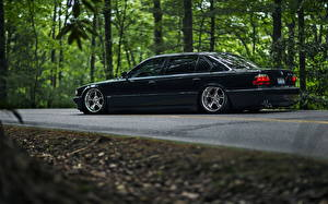 Обои BMW Сбоку 740iL e38 stance 7 series Автомобили фото