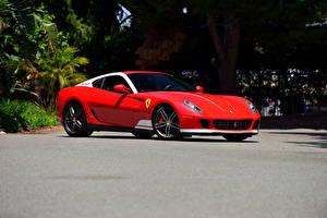 Фото Ferrari Красный 2011 Pininfarina 599 Авто