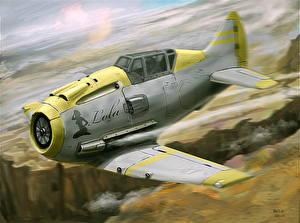 Фото Самолеты Истребители Рисованные Lola