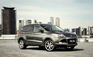 Обои Ford Сбоку 2013 Kuga фото