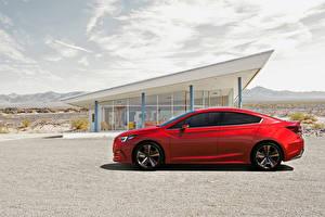 Обои Subaru Красный Сбоку Impreza Sedan Concept Автомобили фото