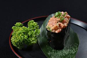 Обои Морепродукты Суши Овощи Еда фото