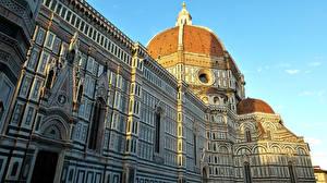 Картинки Дома Италия Собор Флоренция