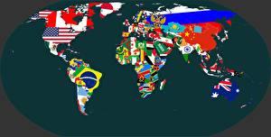Фотография География Географическая карта