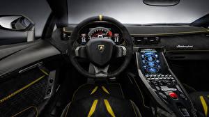 Фото Салоны Lamborghini Автомобильный руль Centenario Автомобили