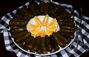 Обои Вторые блюда Апельсин голубцы Еда фото