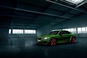 Обои BMW Стайлинг Зеленые 2016 AC Schnitzer ACL2 автомобиль