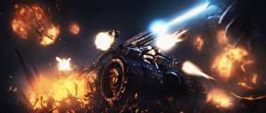 Картинка StarCraft 2 Битвы Unreal Tournament 3, Leviathan, Swarm Crusher