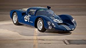 Фотографии Порше Ретро Синий Металлик 1967 Porsche 906E Racing Coupe (159) авто