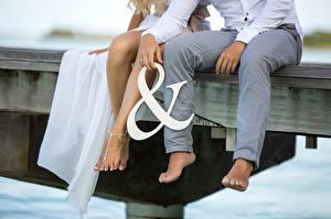 Картинки Ноги Свадьба Сидящие Жених Невеста