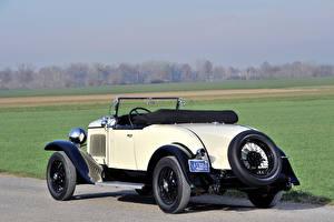 Обои Chrysler Ретро Сзади Родстер 1929 Chrysler Series 75 Roadster