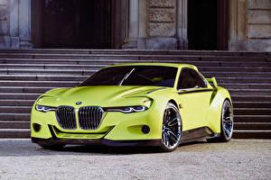 Фото BMW Салатовый 2015 CSL Hommage автомобиль