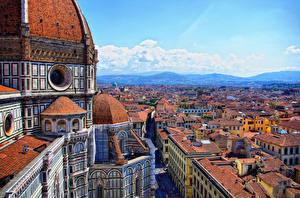 Картинка Дома Италия Собор Флоренция