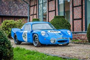 Фото Renault Ретро Стайлинг Голубой Металлик 1964 Alpine M64 (Renault )