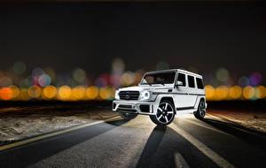 Фотография Mercedes-Benz G-класс Машины 2014 Ares Design G-Klasse W463 Автомобили