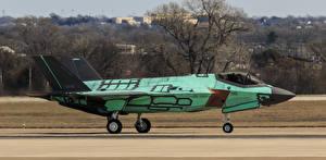 Обои Самолеты Истребители F-35A, Lightning II Авиация фото