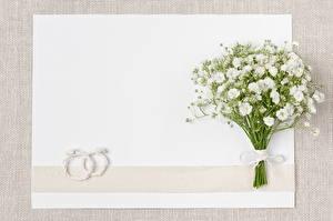 Фотография Букеты Свадьба Кольцо Шаблон поздравительной открытки