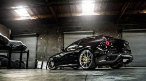 Обои Ferrari Черный FF