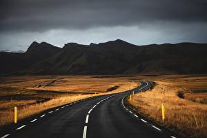 Фото Дороги Горы Природа