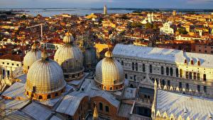 Обои Дома Италия Венеция St Mark's Basilica