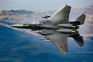 Обои Самолеты Истребители McDonnell Douglas F-15 Eagle Авиация фото